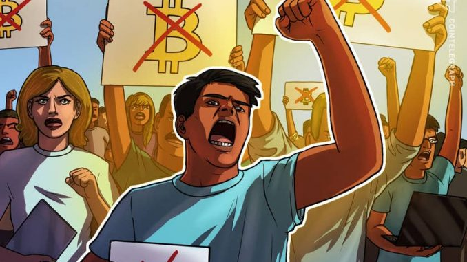 El Salvador's Bitcoin Detractors: Opposition  Groups Gather As Crypto Law Rolls Out