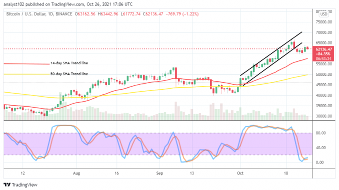 Bitcoin (btc/usd) Market Holds In $65,000 And $60,000 Levels