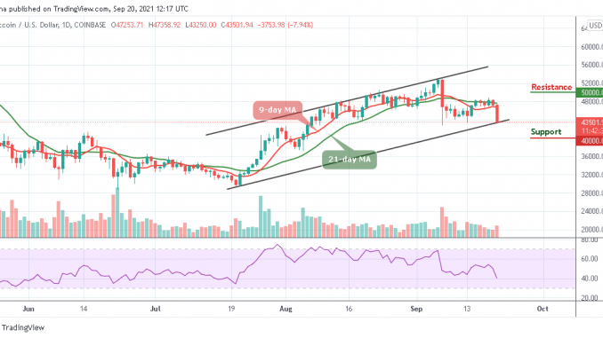 Bitcoin Price Prediction: Btc/usd Plunges After Losing $47,000 Support