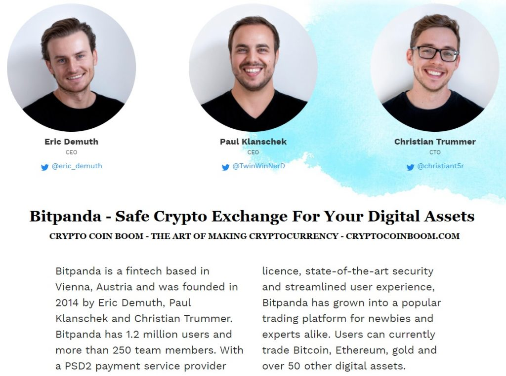 Bitpanda Review - Bitpanda Is A Safe Crypto Exchange For Your Digital Assets. Invest In Bitcoin, Ethereum, Gold And 50 Other Cryptocurrencies
