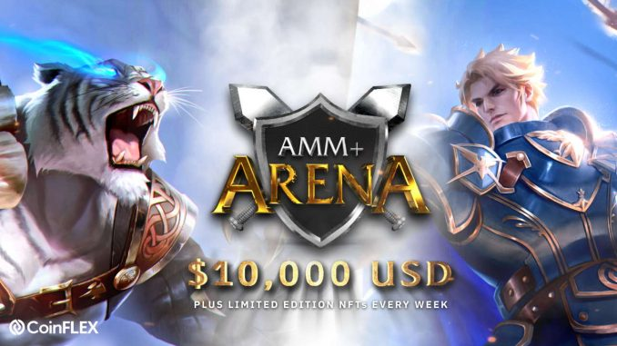 Coinflex Amm+ Arena: Bring Your Competitive Edge To The Amm Experience