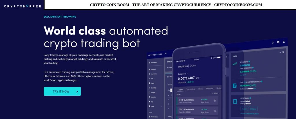 Cryptohopper Review - Cryptohopper Is The Most Powerful Crypto Trading Robot For Automated Trading, Portfolio Management, And Copy Trading