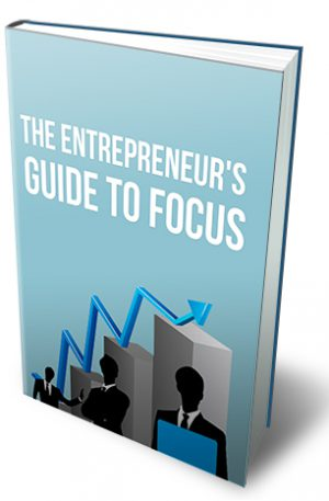 Entrepreneurs Guide To Focus Ebook with Master Resale Rights