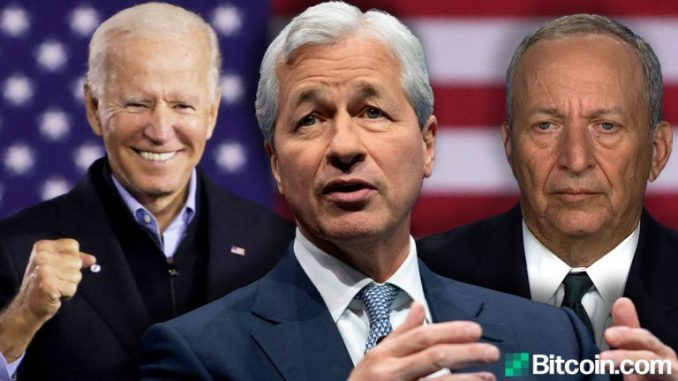 White House Defends Trillion-dollar Stimulus While Jamie Dimon And Larry Summers Warn Of Runaway Inflation