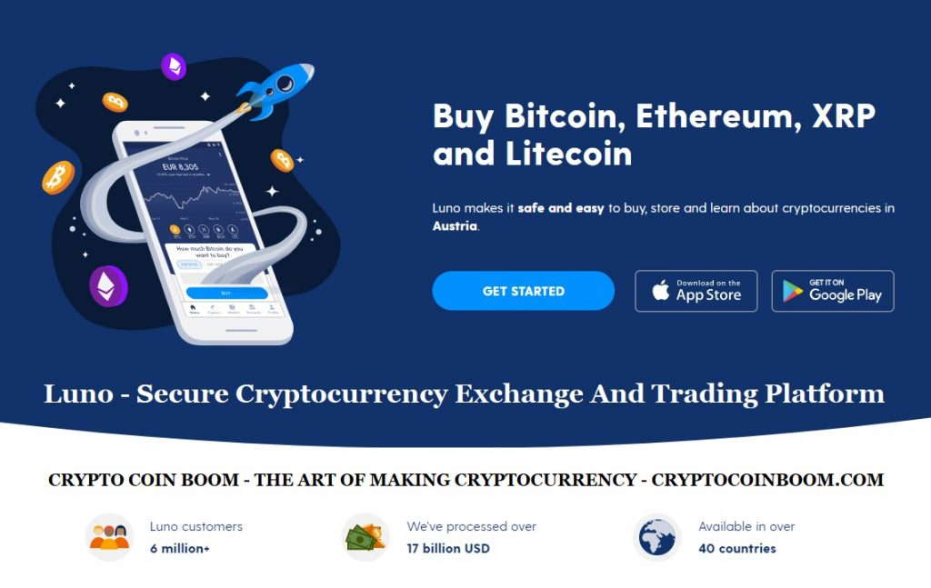 Luno Review - Luno Is A Secure Cryptocurrency Exchange And Trading Platform That Lets You Buy, Sell, Store And Trade BTC, ETH, XRP, And More.