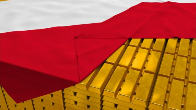 Poland's Central Bank Says It Will Add 100 Tons Of Gold To Existing Holdings In 2022