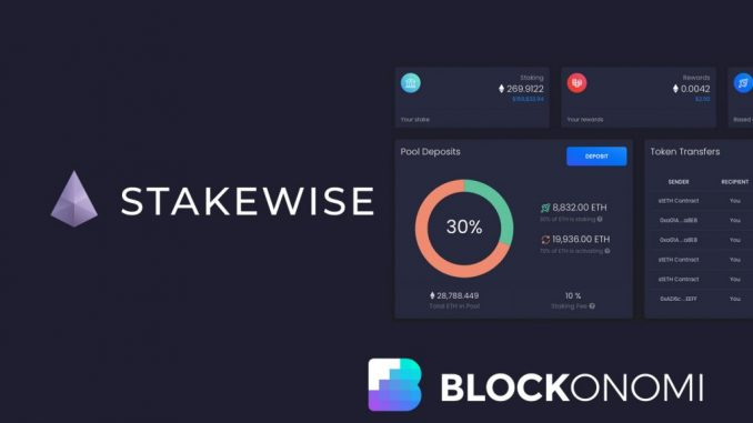 Stakewise Guide: Ethereum 2.0 Proof Of Stake Pool & Solo Staking
